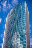 法兰克福现代摩天大楼 库存照片