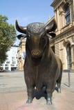 法兰克福证券交易所 免版税库存图片