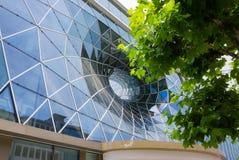 法兰克福,德国- 2016年6月15日:现代商城MyZeil的门面 库存照片