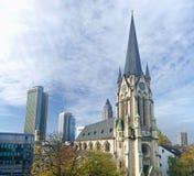 法兰克福St.安东尼氏族Kirche 免版税库存图片