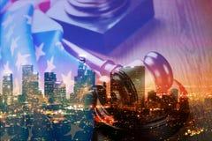 法制系统 免版税库存图片