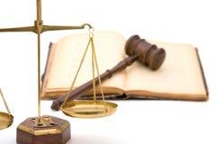 法制系统 免版税库存照片