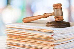 法制系统 库存图片