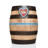 巴法力亚啤酒桶 图库摄影