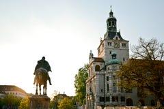 巴法力亚国家博物馆在慕尼黑巴伐利亚德国 免版税库存图片