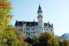 巴法力亚城堡--南德国 库存图片