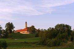 巴法力亚女修道院Reutberg 库存照片