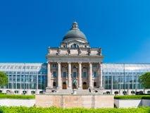 巴法力亚状态大臣官邸是巴伐利亚的德国自由州的州机关 库存照片