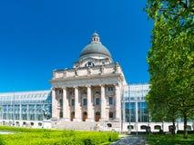 巴法力亚状态大臣官邸是巴伐利亚的德国自由州的州机关 库存图片