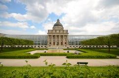 巴法力亚状态大臣官邸,慕尼黑,德国 库存图片