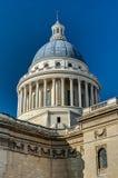 巴黎法国万神殿的圆顶  免版税图库摄影