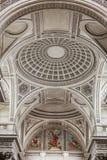 法国万神殿巴黎 免版税库存图片