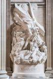 法国万神殿巴黎 免版税图库摄影