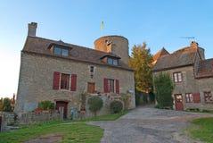 法国中世纪小的塔 免版税库存照片