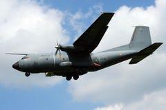 法国人空军队C-160 Transall货机 免版税库存照片