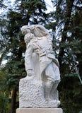 法国人第一份世界大战纪念品在布加勒斯特,罗马尼亚 免版税库存图片