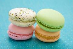 法国人Macaron曲奇饼 免版税库存图片