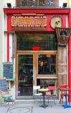法国传统咖啡馆Jours de fete,巴黎,法国 图库摄影