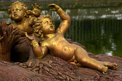 法国公园凡尔赛 免版税图库摄影