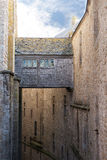 法国内部迈克尔圣徒smount墙壁 免版税库存图片