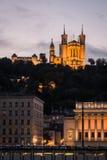 法国利昂 免版税库存照片