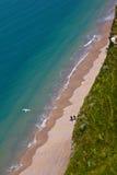 法国北海岸, Etretat 免版税图库摄影