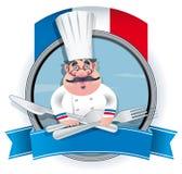 法国厨师 免版税库存照片