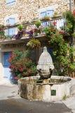 法国喷泉 免版税库存图片