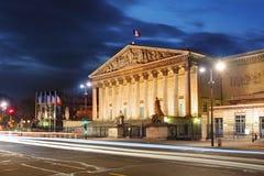法国国民大会,巴黎,法国 库存照片