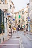 法国圣徒tropez 免版税图库摄影