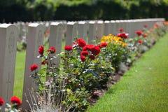法国坟墓战争 库存照片