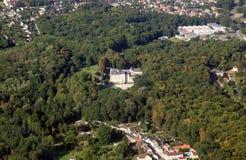 法国城堡房子 免版税库存图片