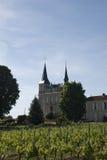 法国城堡 免版税库存照片
