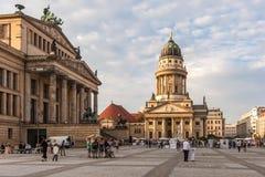 法国大教堂-柏林 免版税库存照片