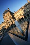 法国天窗博物馆巴黎金字塔 图库摄影