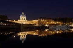 法国学院巴黎 库存图片