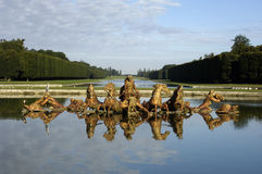 法国宫殿公园凡尔赛 免版税图库摄影