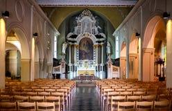 法国小教会 库存照片