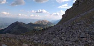 法国山Hautes Alpes 免版税库存图片