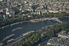 法国巴黎河围网 图库摄影