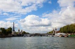 法国巴黎河围网 免版税图库摄影