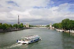 法国巴黎河围网 免版税库存照片