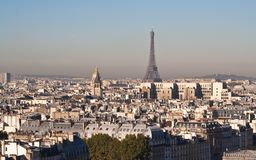 法国巴黎视图 图库摄影