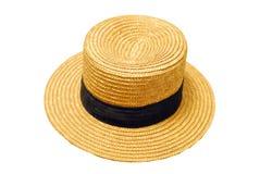 法国帽子秸杆夏天 库存照片