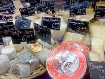 法国干酪 免版税库存照片