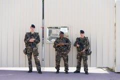 法国战士 免版税库存图片