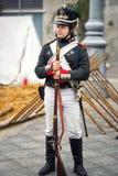 法国战士 库存图片
