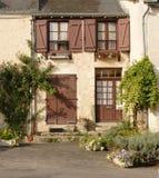 法国房子土气村庄 免版税图库摄影