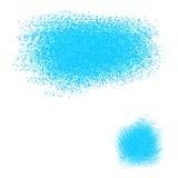 法国抽象蓝色背景驱散小颗粒 免版税库存照片