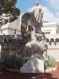 法国摩纳哥彻特d Azur敬意des殖民地Etrangeres雕象 库存图片